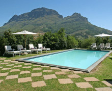 Beautiful views of the Simonsberg