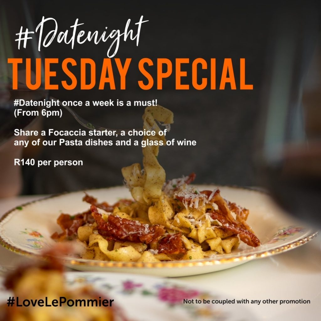Date Night Special Tuesday