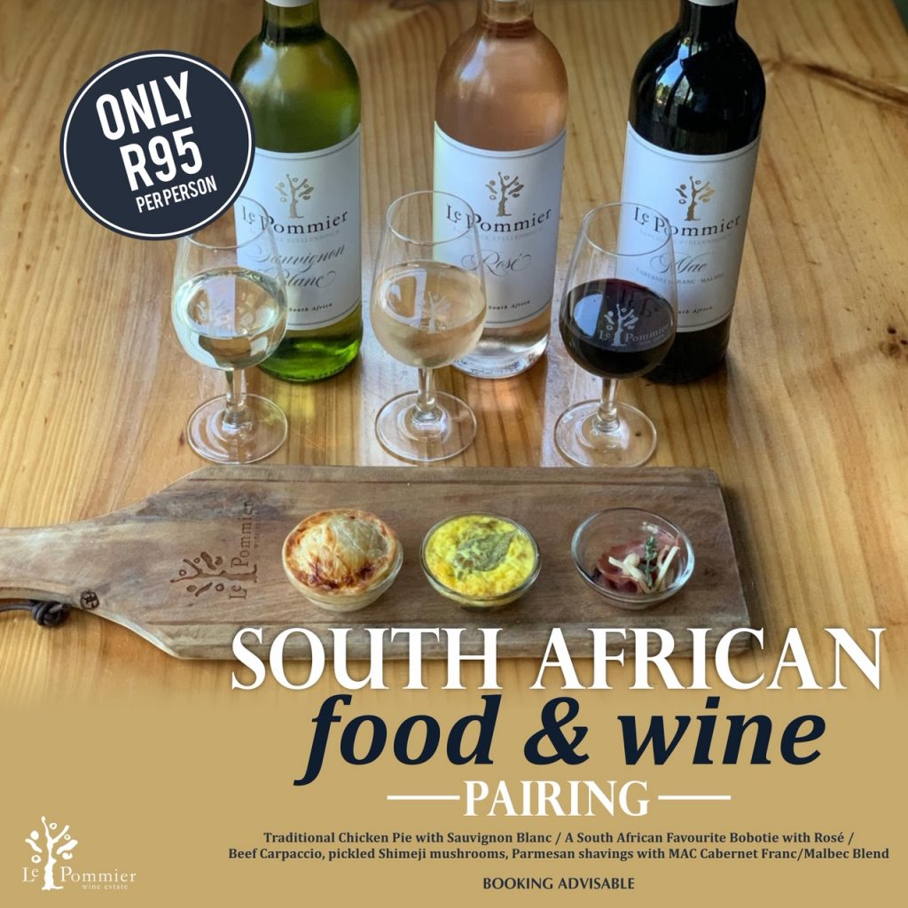 South African Food and Wine Pairing