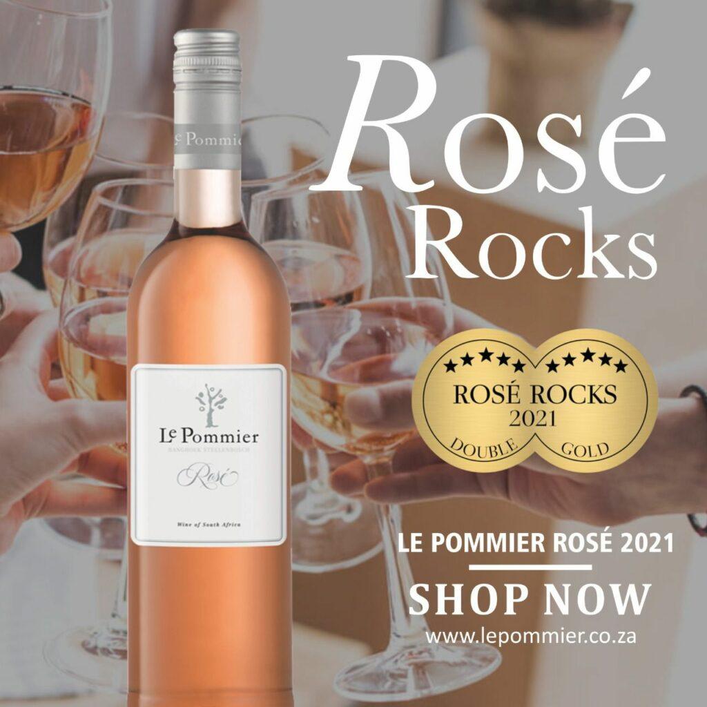 Rosé Rocks - Double Gold